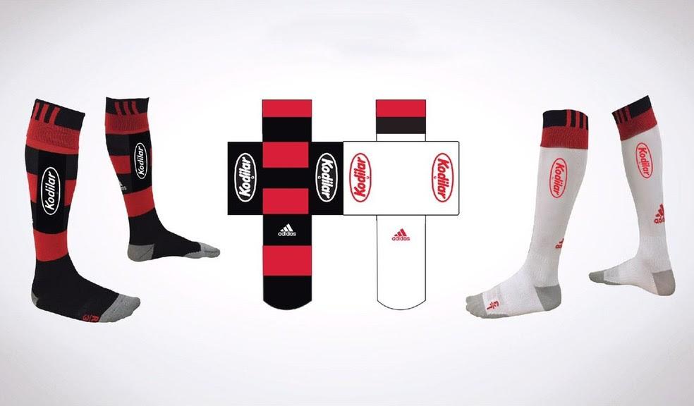 Kodilar é a nova patrocinadora do Flamengo (Foto: Divulgação)