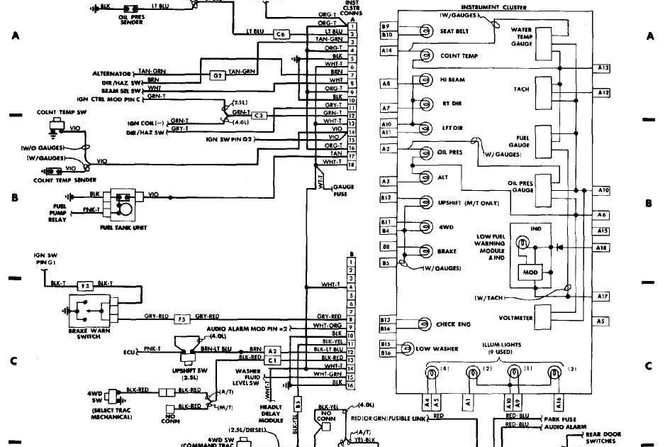 Diagram For Wiring On Jeep Grand Cherokee Bcm
