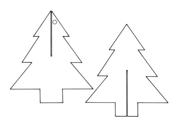tannenbaum zum ausschneiden  30 tannenbaum vorlage zum