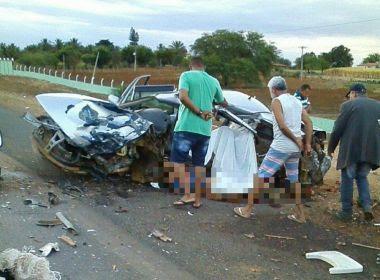 Irecê: Segue foragido motorista acusado de causar acidente com 5 mortes