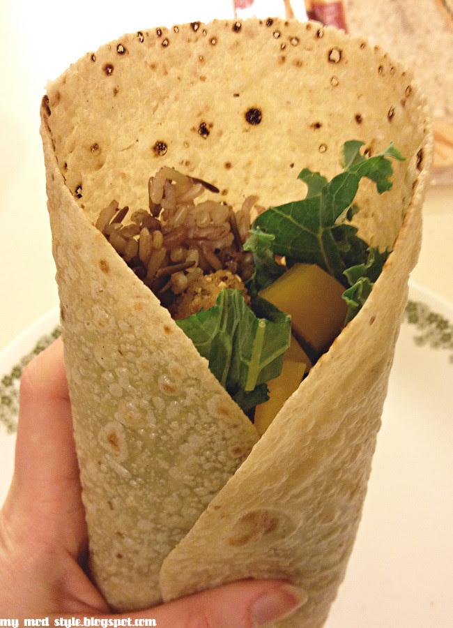 Chicken less Burrito1