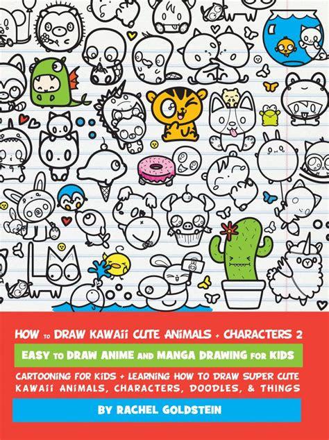 drawing kawaii cute animals characters
