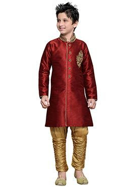 Buy Designer Diwali Boys Dresses   Online Diwali Boys