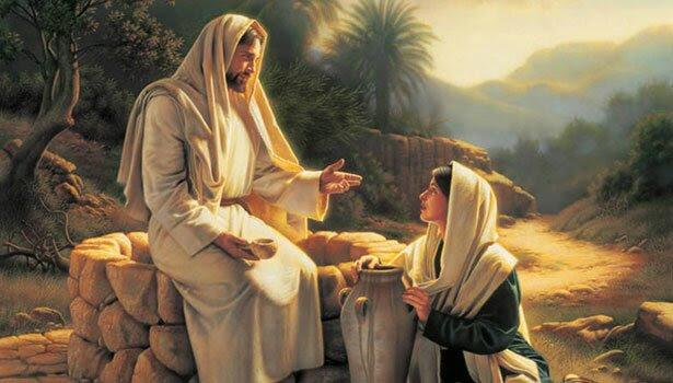 Afbeeldingsresultaat voor jezus en de samaritaanse vrouw