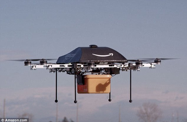 Drone delivery may seem a long way off - but everyone from Amazon to UPS is investigating it