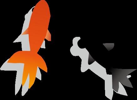 金魚のイラスト無料イラスト フリー素材
