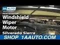 New Windshield Wiper Motor Cost