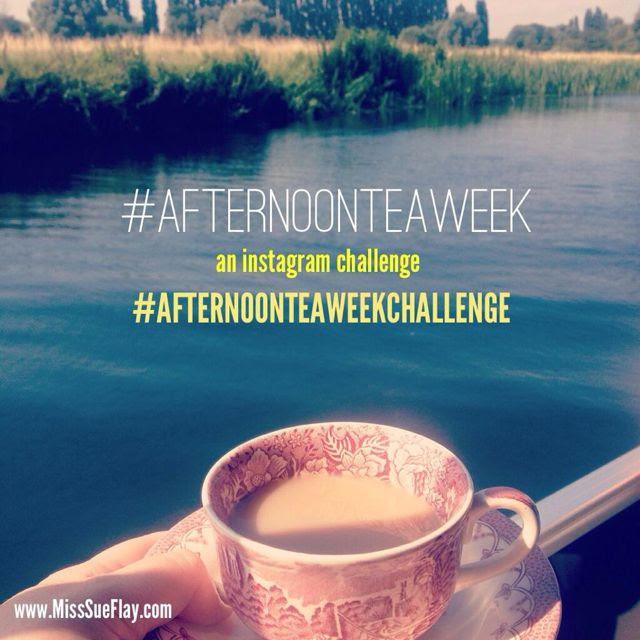 Afternoon Tea Week Instagram Challenge with Miss Sue Flay