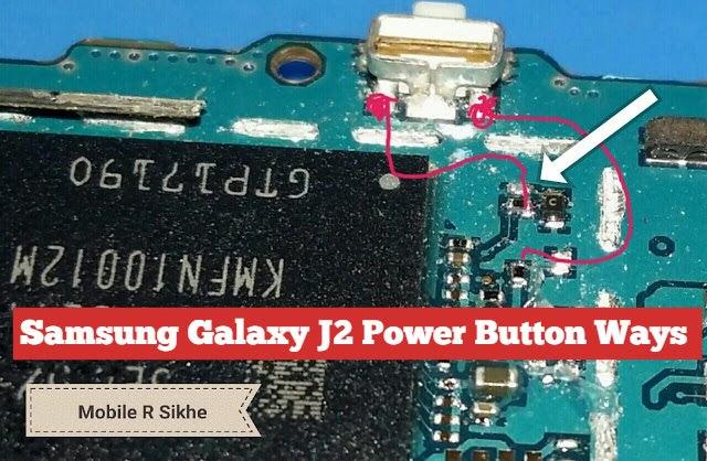 Samsung Galaxy J2 Power Button Solution Jumper Ways