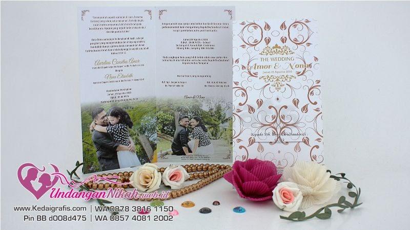 Contoh Undangan Nikah Desain Undangan Pernikahan Unik Dan ...