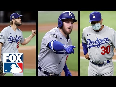 World Series Game 5: Hear from Kershaw, Muncy, & Roberts with Dodgers on brink of title | FOX MLB