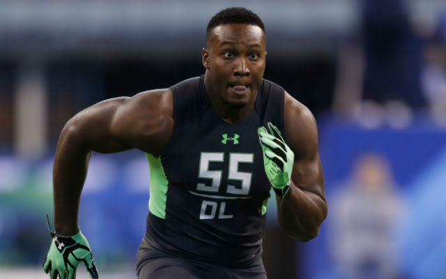 Will someone take a chance on Noah Spence's talent in the first round? (USATSI)