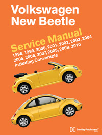 Vw Volkswagen New Beetle Service Manual 1998 2010 Bentley Publishers Repair Manuals And Automotive Books