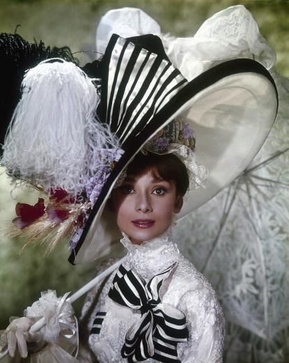 "Audrey Hepburn jako Eliza Doolittle w ""My Fair Lady"" (1964)"