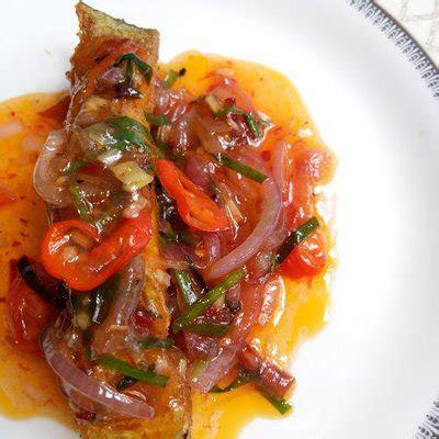 resepi ikan bawal masak sos cili thai