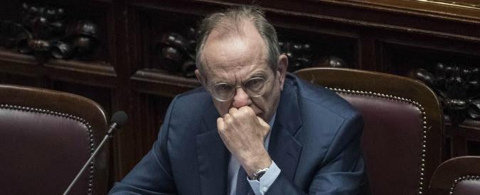 """Conti pubblici, Padoan alla Ue: """"Manovra pericolosa per economia italiana. Per noi rischi da politiche Usa e Uk"""""""
