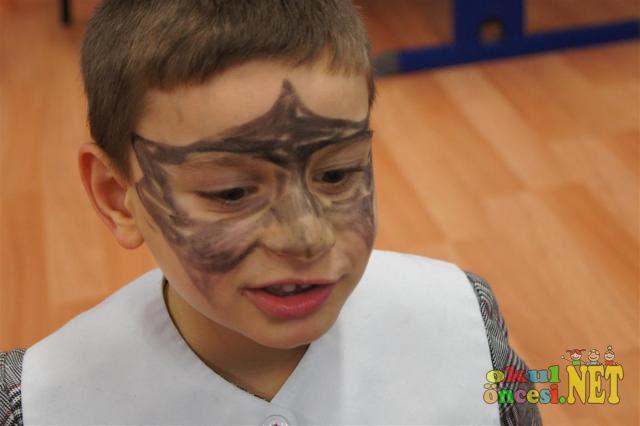 Komik Fipixde Okul öncesi Yüz Boyama örnekleri çocuk Yüz Boyama