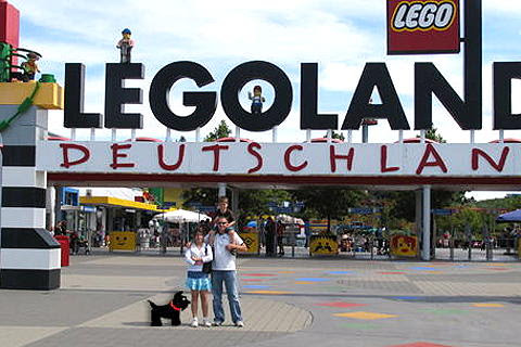 Scotty and Family at LegoLand