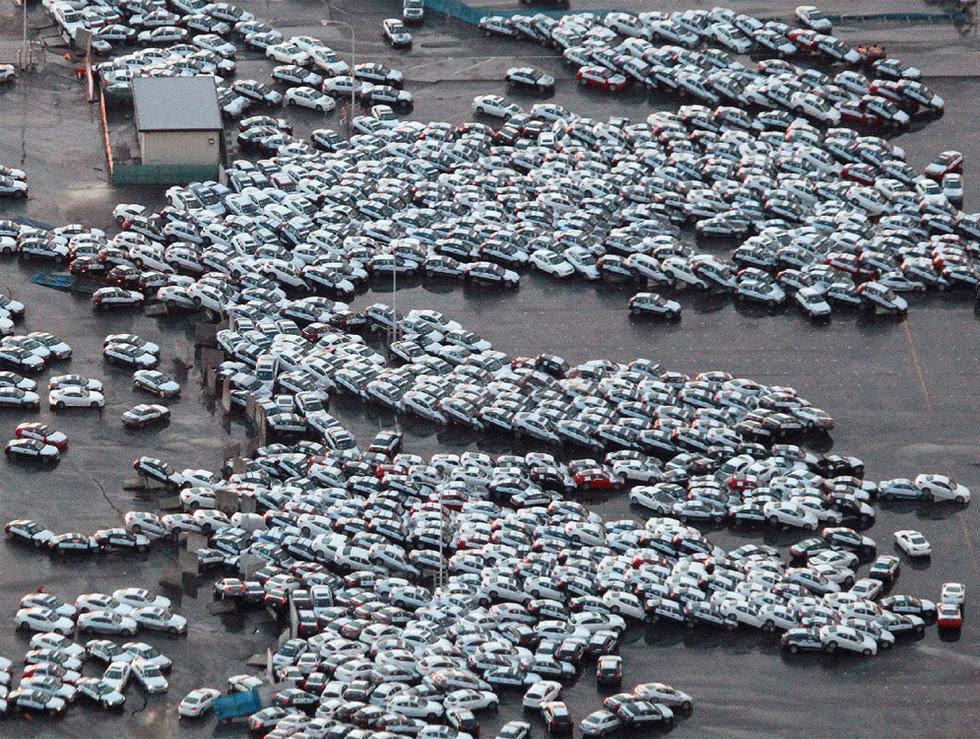 Terremoto en Japón  - Exportación truncada