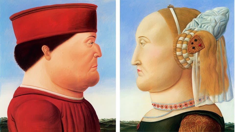 Piero Della Francesca (díptico), 1998
