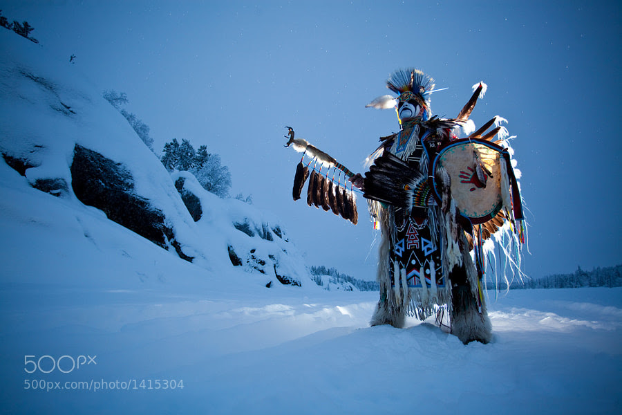 Photograph Snow Warrior by Dave Brosha on 500px