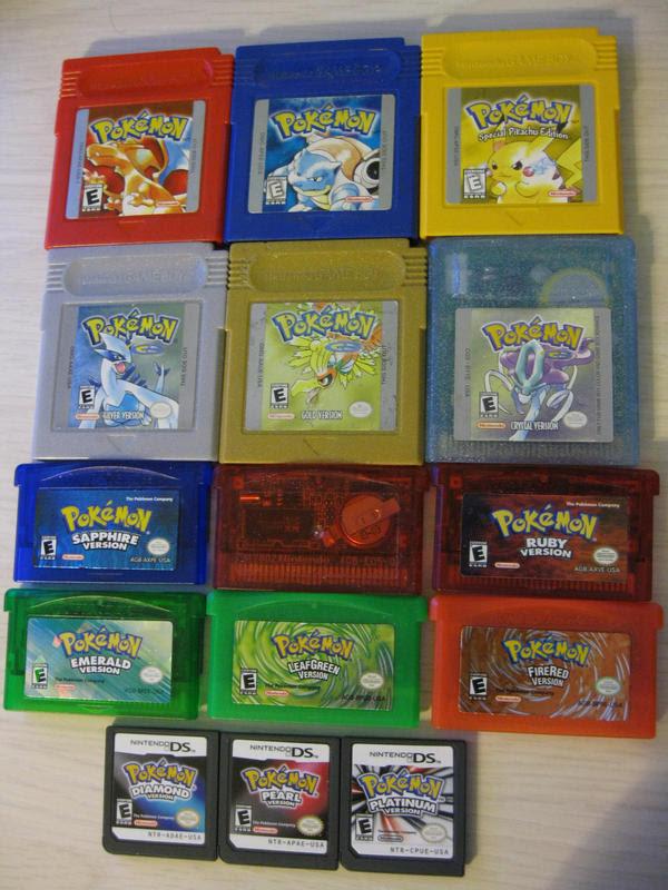 Pokemon Games by aimfis on DeviantArt