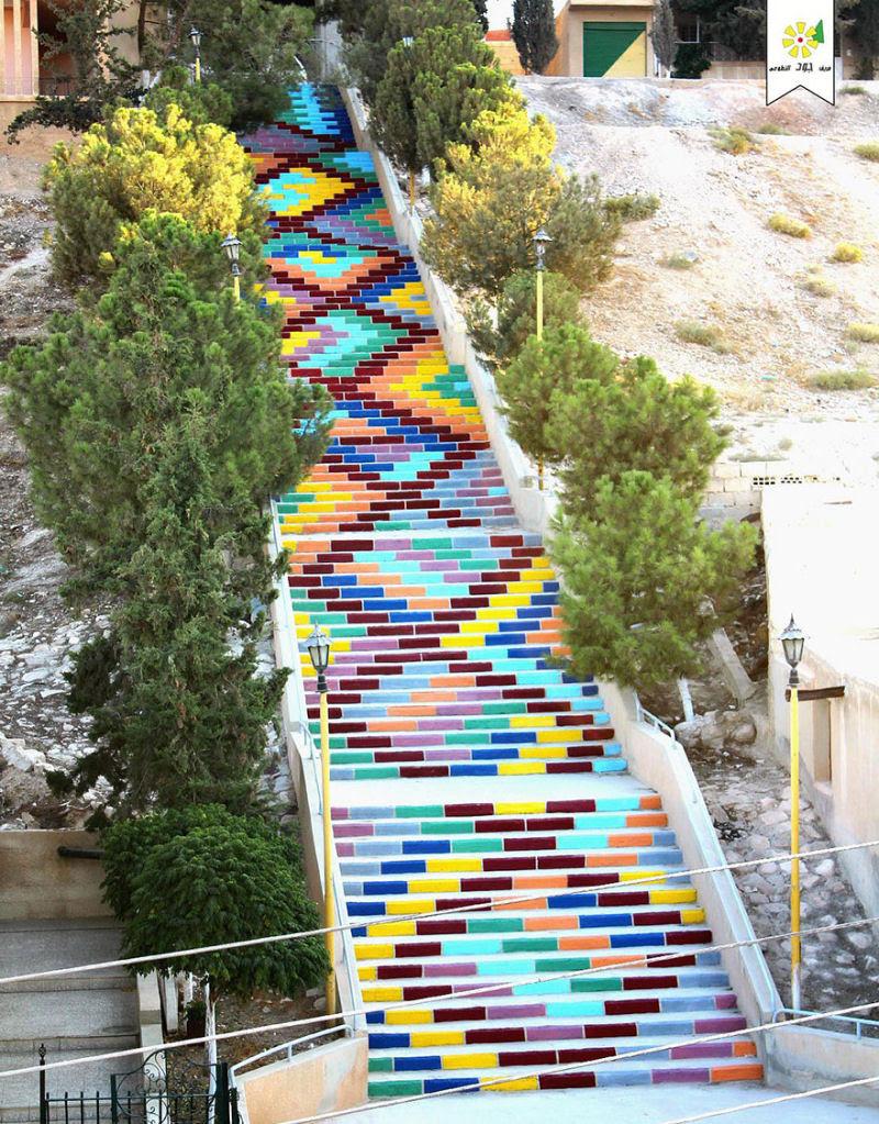 17 escadarias com as mais belas decorações urbanas do mundo 12