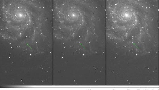 La supernova PTF 11kly
