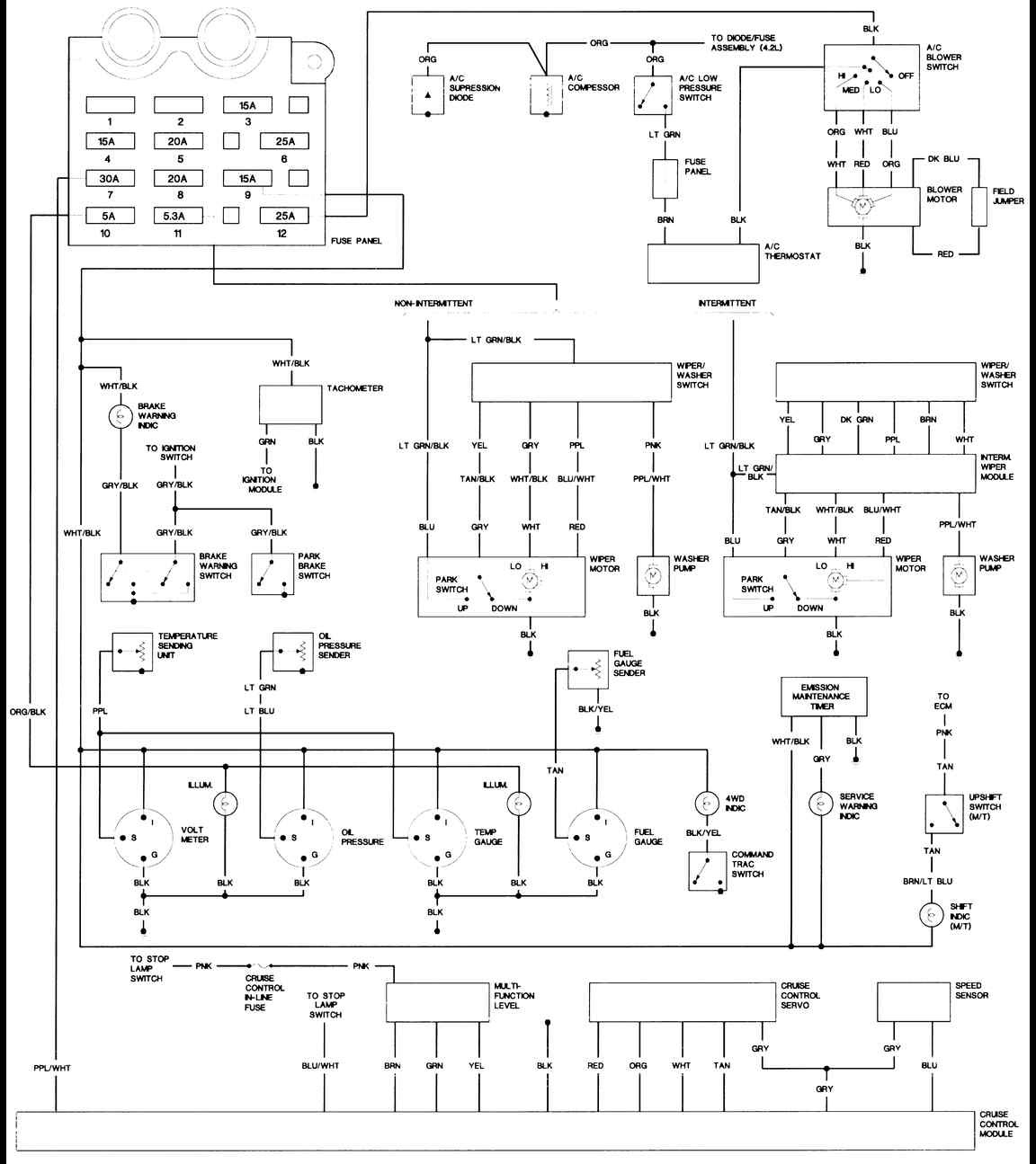 2000 Jeep Wrangler Ignition Wiring Diagram - Wiring Diagram