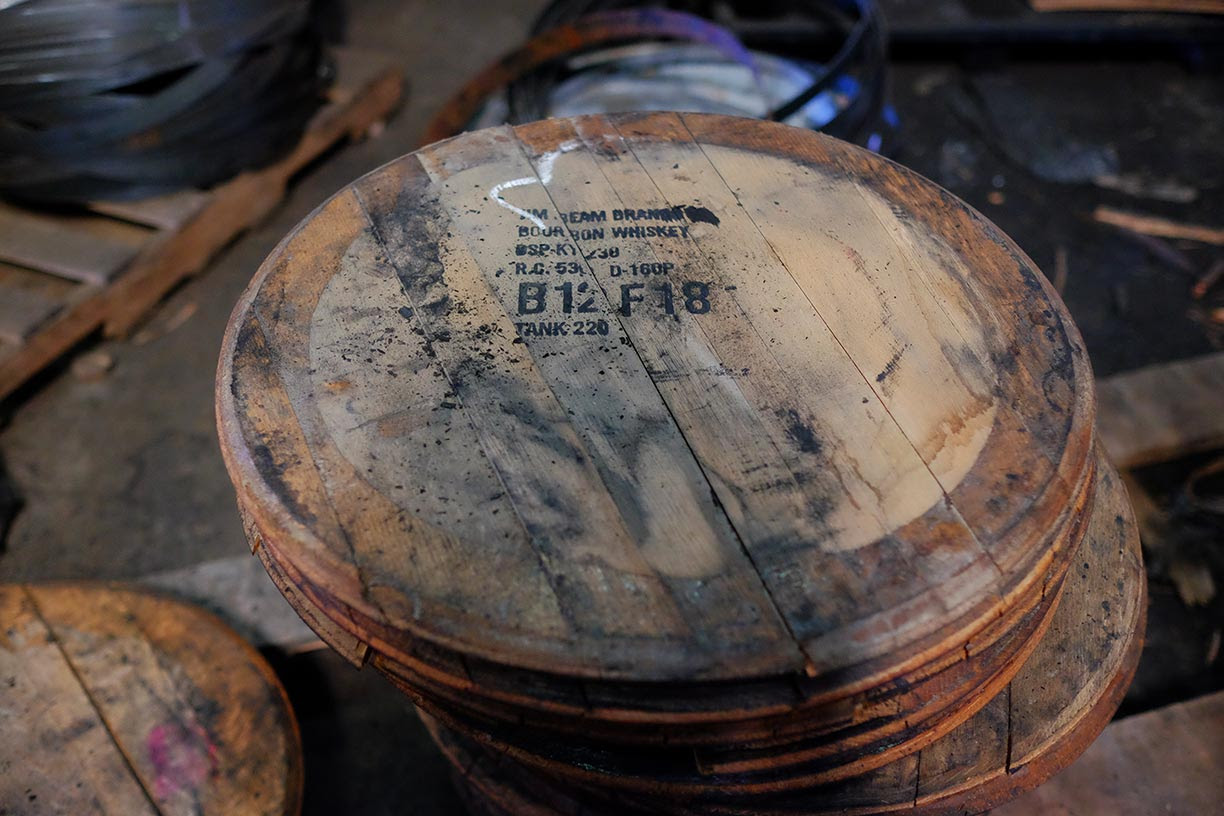 Used Barrels Kelvin Cooperage