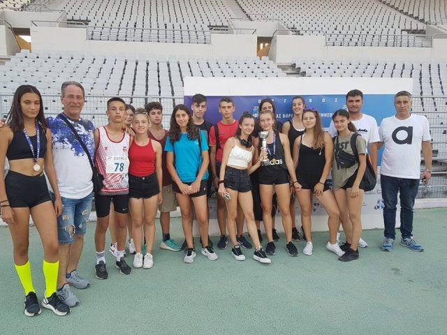 """Ήγουμενίτσα: """"Ελαμψαν"""" οι αθλητές και αθλήτριες του Πρωτέα Ηγουμενίτσας στο Πανελλήνιο Πρωτάθλημα Κ16"""