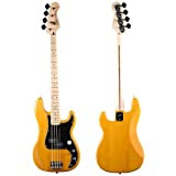 Squier by Fender Vintage Modified Precision Bass Maple, Amber