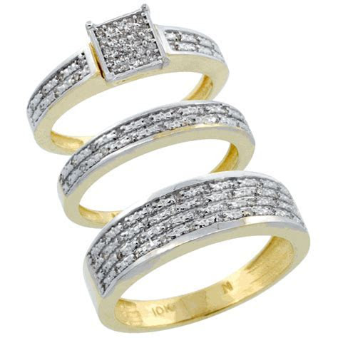 His and Hers Wedding Ring Sets   A Trusted Wedding Source