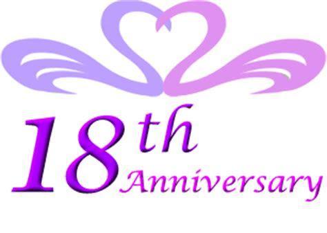18th wedding anniversary gift ideas   Perfect 18th