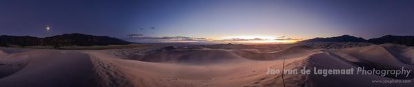 dusk dune pano