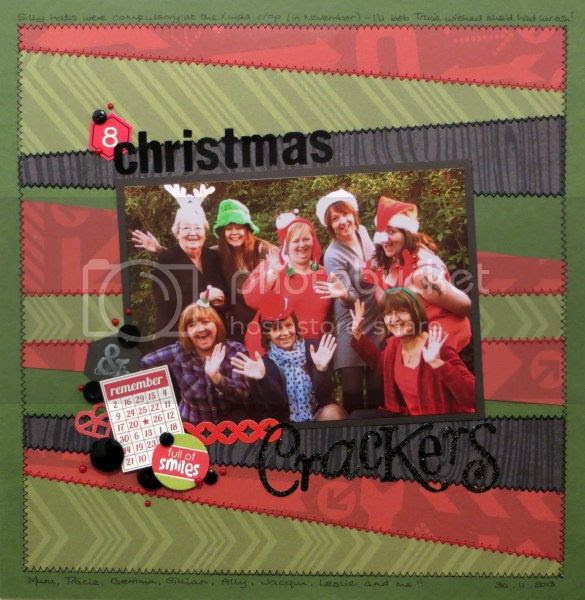 Jimjams - Layout - Christmas Crackers