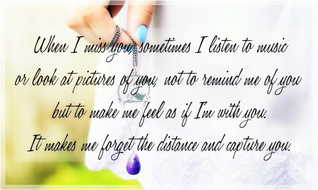 30 Best I Miss You Quotes