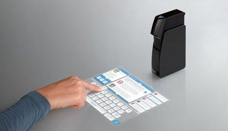 Light Touch, un fantástico proyector de teclado