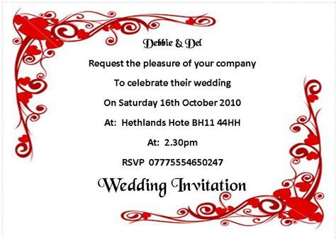 Wedding invitation day or evening Personalised Heart