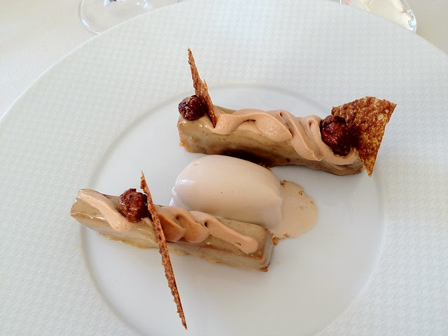 "Restaurant Gabriel, Bordeaux - ""Snickers"" dessert"