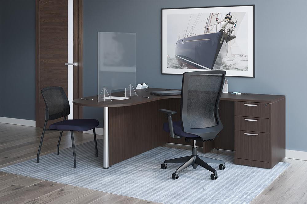Advanced Liquidators :: Desk Mounted Shields