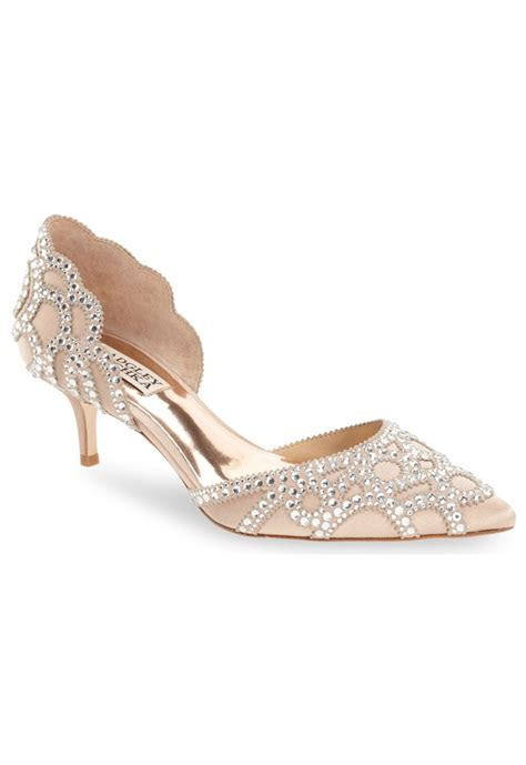 'Ginny' Embellished d'Orsay Pump   Green Wedding Shoes