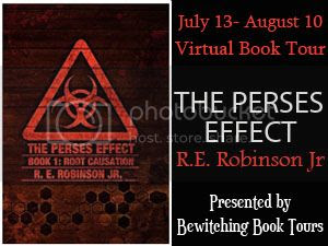 The Perses Effect banner Bewitching Book Tours.