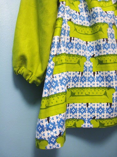 Bird Therapy Tunic detail