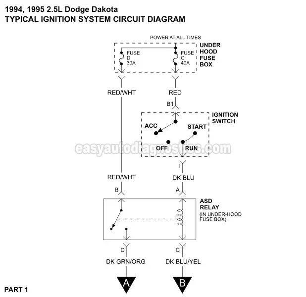 Wiring Diagram For 93 Dodge Dakotum