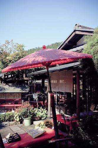 京都小紅傘
