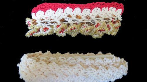 daisy oya and crochet lace