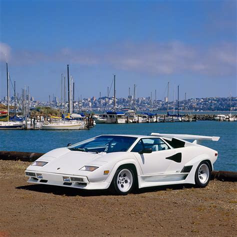 White Lamborghini Countach Poster   www.imgkid.com   The Image Kid Has It!
