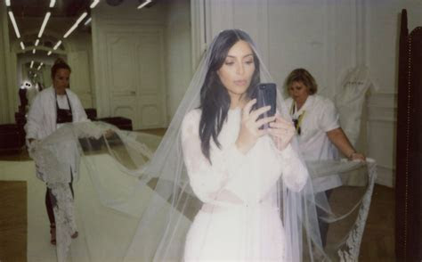 Kim Kardashian Wore a $20 Fragrance on Her Wedding Day