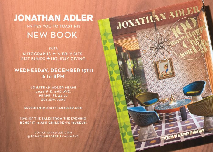 South Florida Nights Magazine Jonathan Adler Book Signing And Party